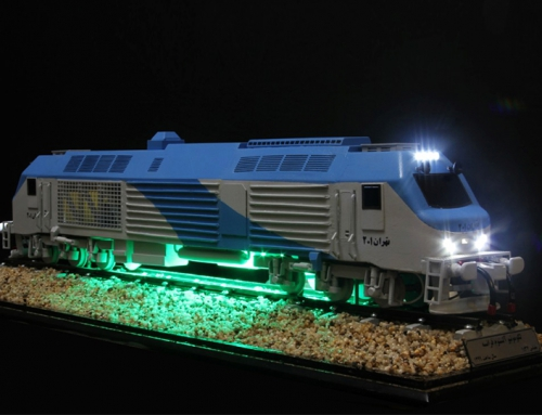 Frenche Alstom Locomotive
