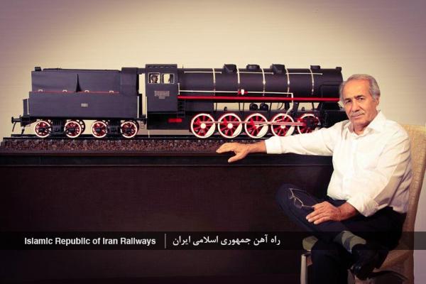 راه آهن جمهوری اسلامی ایران - ماکت لوکوموتیو